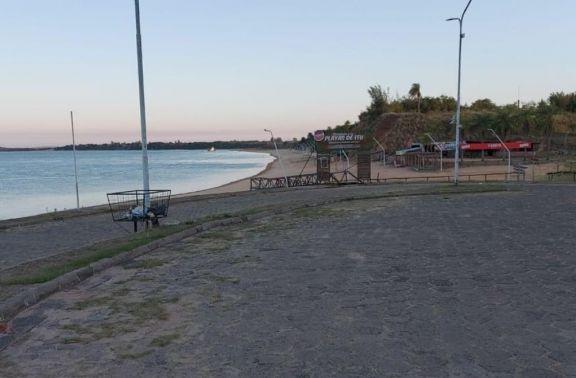 Ituzaingó: la altura del rio no superará los 0.80 m esta semana