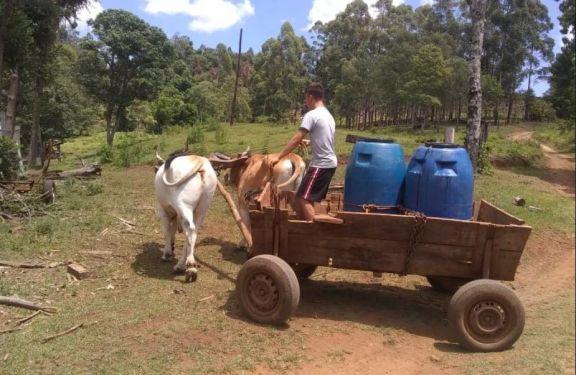 San Pedro: ante emergencia hídrica, construyeron más de cien bebederos en zona rural