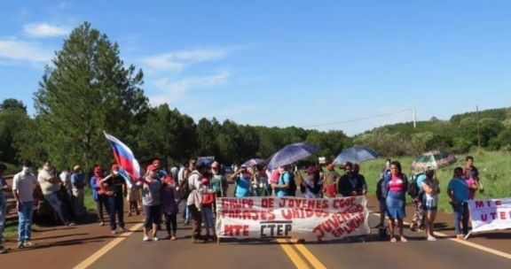Corte de ruta en Puerto Libertad por el pedido de agua potable