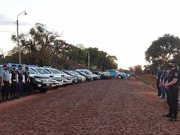 Agentes viales de Santo Tomé participaron en controles de ruta en Misiones