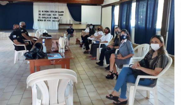 Eldorado: reunión de coordinación sobre seguridad con directores de establecimientos escolares