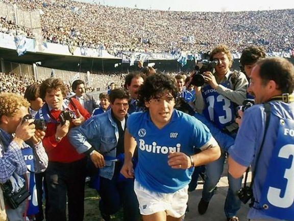 El estadio San Paolo del Napoli se llamara Diego Maradona