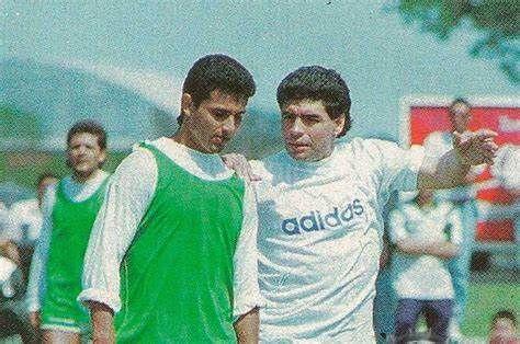 Herrera Ahuad recordó a Maradona cuando lo cubría como DT de Mandiyú