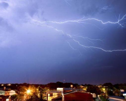 Renovaron alerta meteorológica por tormentas fuertes en Misiones