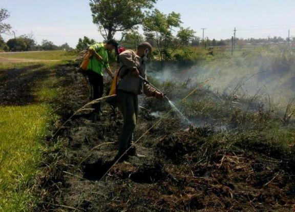 Corrientes reiteró que están prohibidas todo tipo de quemas en el territorio provincial
