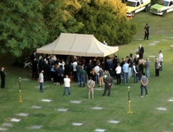 Maradona ya descansa junto a sus padres en el Cementerio Jardín de Bella Vista