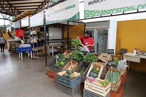 Notable merma en la producción local de frutas y verduras