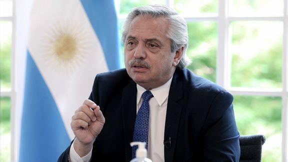 """Alberto Fernández: """"Hubo una acción desmedida de la Policía de la ciudad"""""""