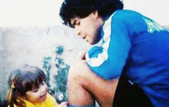 """Dalma conmueve con un mensaje a Diego: """"Te voy a amar y a defender toda mi vida"""""""