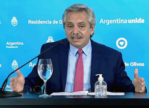 """El presidente convocó a construir una """"Argentina unida contra las violencias de género"""""""