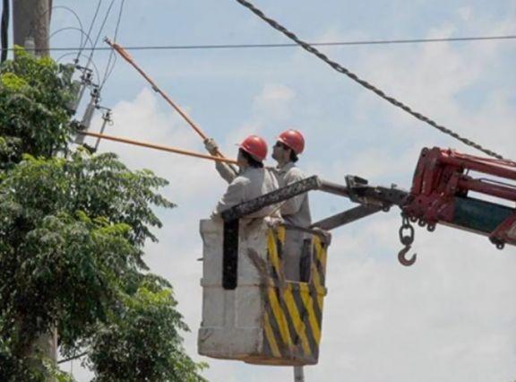 Este domingo habrá cortes de energía eléctrica en distintos puntos de Posadas