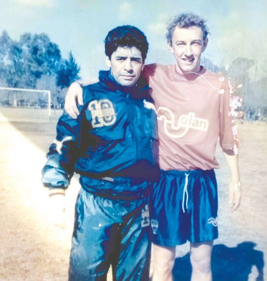 Widmann y el tobillo de Diego