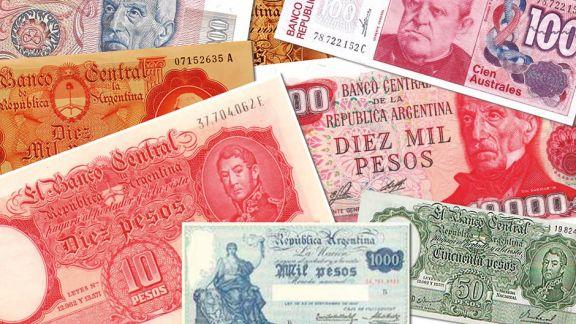 La plata argentina a través del tiempo