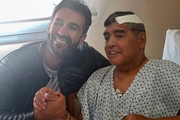 Allanan la casa y el consultorio de Leopoldo Luque, el médico de Diego Maradona
