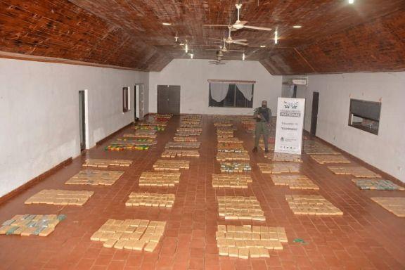 En dos operativos, la Gendarmería secuestró más de 3 toneladas de marihuana en Misiones