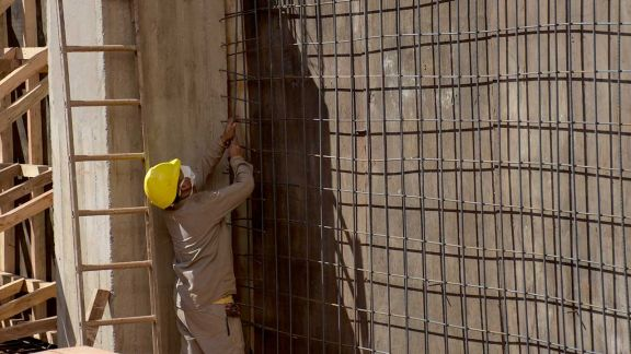 Creció 12,6% el empleo registrado en la construcción en la provincia