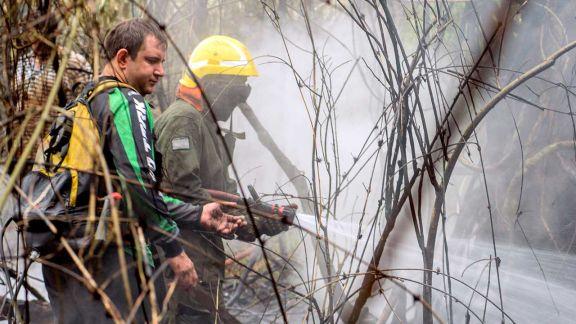 Misiones ya no tiene focos de incendio pero insisten en los cuidados