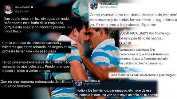 Los Pumas: disculpas por Maradona y escándalo por mensajes xenófobos