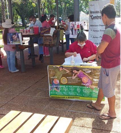 Jardín América: se realizan testeos rápidos y voluntarios en el Día de la Lucha contra el Sida