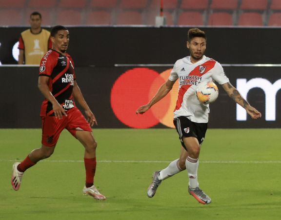 River Plate se clasificó a cuartos de final de la Libertadores tras vencer a Paranaense