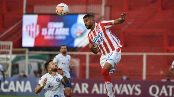 Unión se quedó sin Sudamericana tras empatar con Bahía