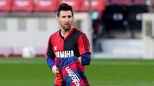 Finalmente Messi fue multado por el homenaje a Diego Maradona