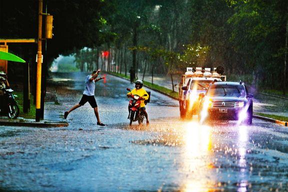 La lluvia y  sus efectos