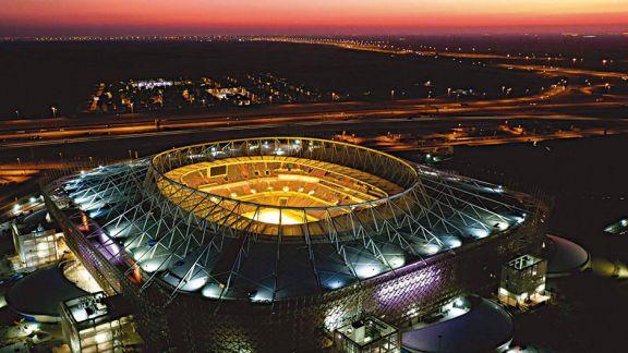 Presentaron un nuevo estadio para el Mundial