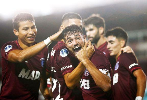 Sudamericana: Lanús goleó y será rival del rojo en cuartos