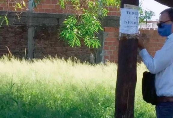 En lo que va del 2020 se labraron 2300 actas por terrenos baldíos en malas condiciones