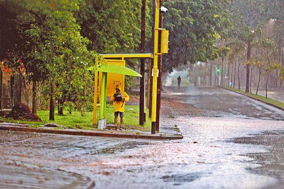 Las lluvias seguirán en zona Norte; el Sur mejora