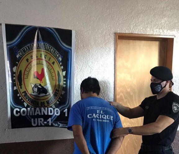 Intentó robar en una casa forzando la reja y terminó detenido