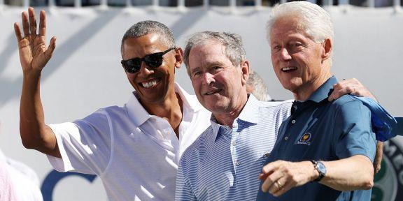 Obama, Bush y Clinton, listos para vacunarse públicamente