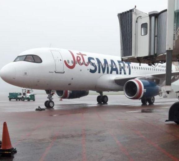 Arribó a Iguazú el primer vuelo low cost desde el inicio de la pandemia