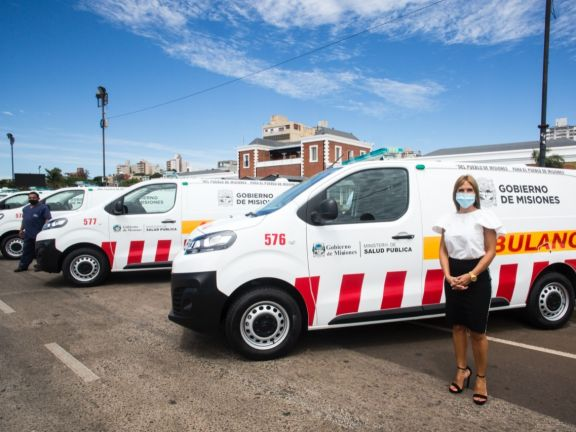 13 nuevas ambulancias refuerzan la red de traslados de Misiones