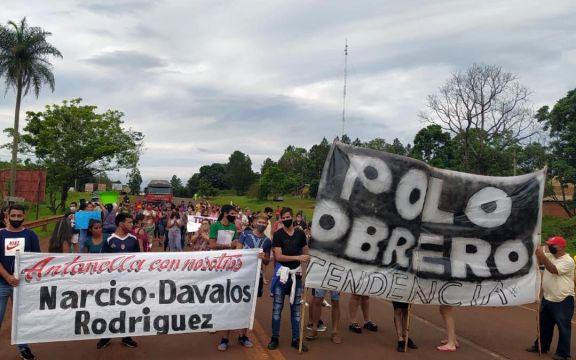Vecinos cortan la ruta 12 pidiendo la restitución de Antonella a la familia Dávalos – Rodríguez