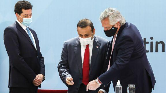 Herrera Ahuad destacó que la firma del Consenso Fiscal da previsibilidad