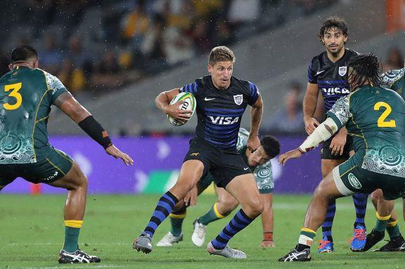 Los Pumas igualaron ante Australia y terminaron segundos en el Tres Naciones