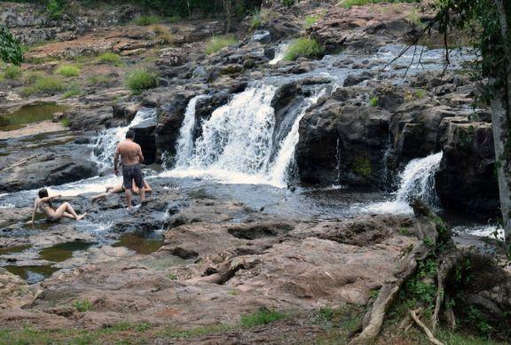 Unas 2 mil personas visitaron los Saltos del Tabay el fin de semana largo