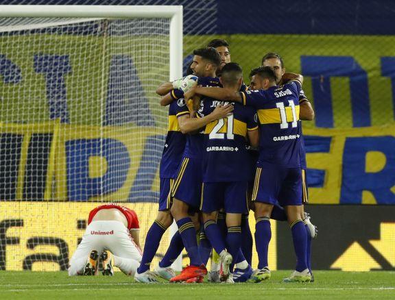Copa Libertadores: Boca eliminó por penales al Inter y se clasificó a cuartos
