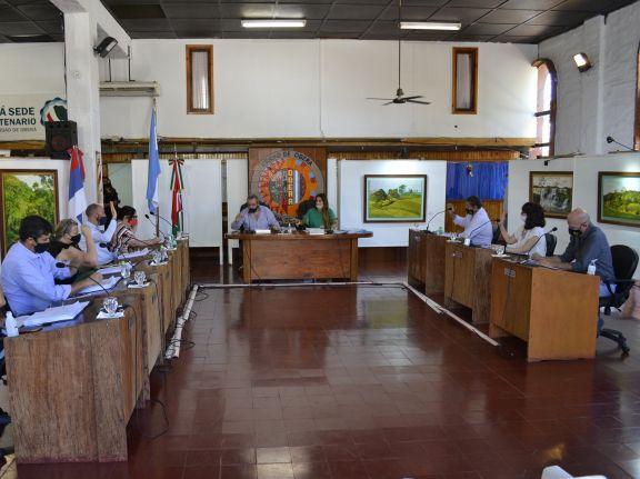 Marrodán fue ratificado en la presidencia del Concejo Deliberante de Oberá