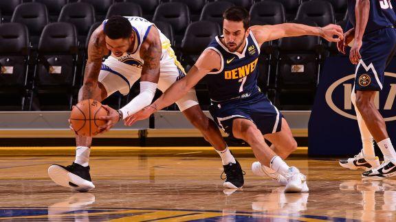 Campazzo concreta estreno en NBA en amistoso de Nuggets ante Warriors