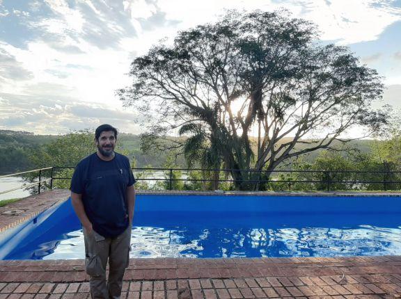 Emprendimiento turístico con vista al río Paraná se reactiva en Montecarlo