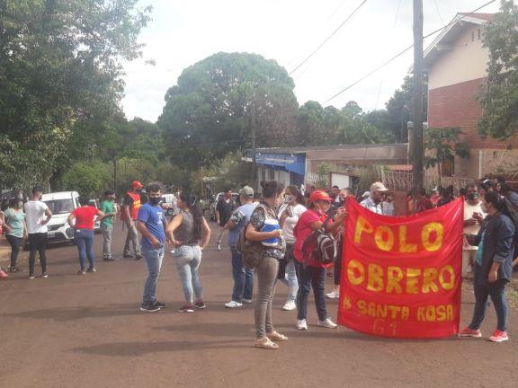 Caso Antonella: Marcha en Eldorado pidiendo acelerar los tiempos procesales