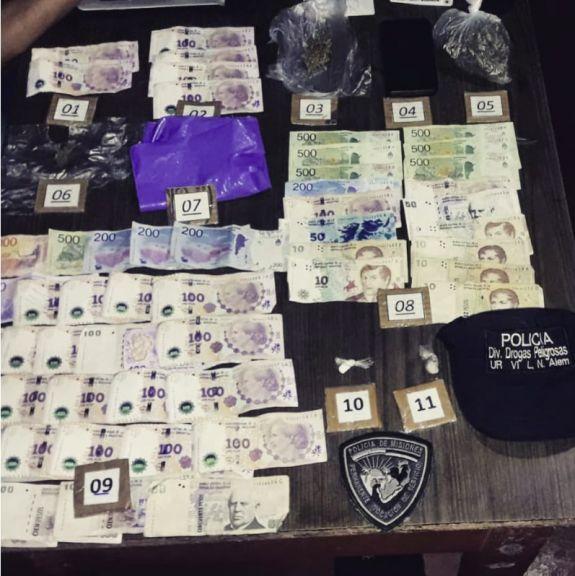 Allanaron presunto kiosco narco en Leandro N. Alem