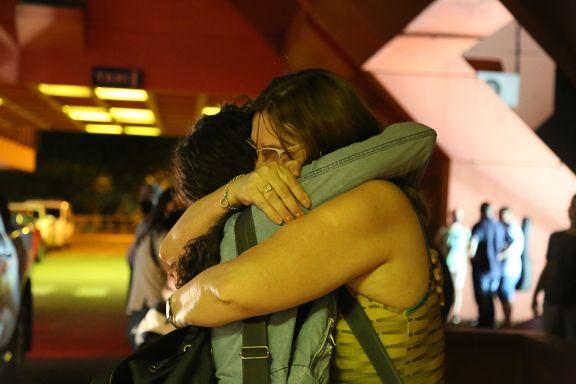 El abrazo más esperado