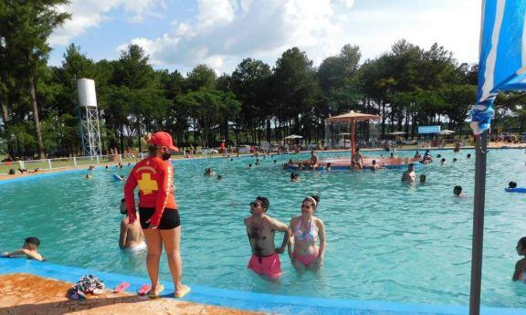 Con protocolo se habilitó la temporada en el Parque Acuático Uruguaí en Libertad