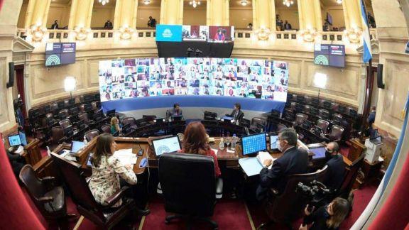El Senado realizará el jueves la primera sesión extraordinaria