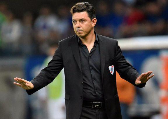 """Gallardo: """"Para armar el equipo contra Boca pensaré primero que lo más importante es Palmeiras"""""""