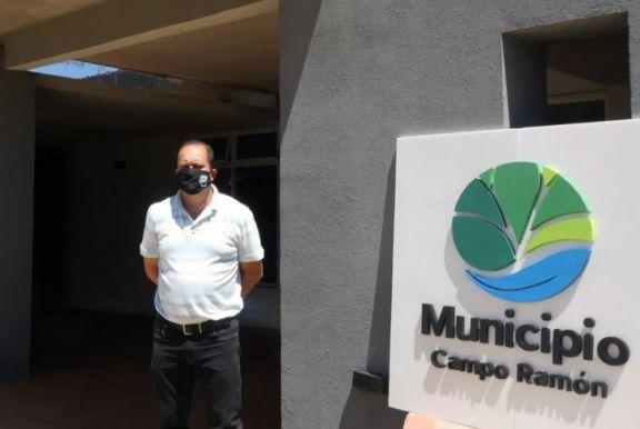El intendente de Campo Ramón dio positivo para Covid-19 y cierran la Municipalidad